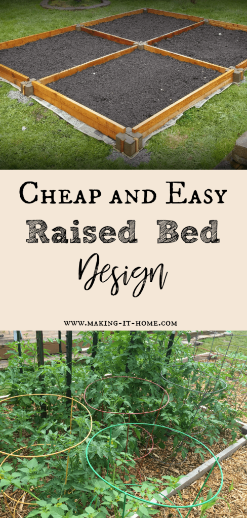 Insanely Easy Raised Garden Bed ~Making It Home