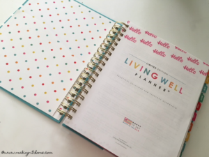 Living Well Spending Less Planner