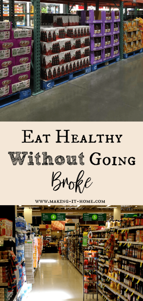 Create A Family Food Strategy ~ Eat Healthy on a Budget ~ Making It Home