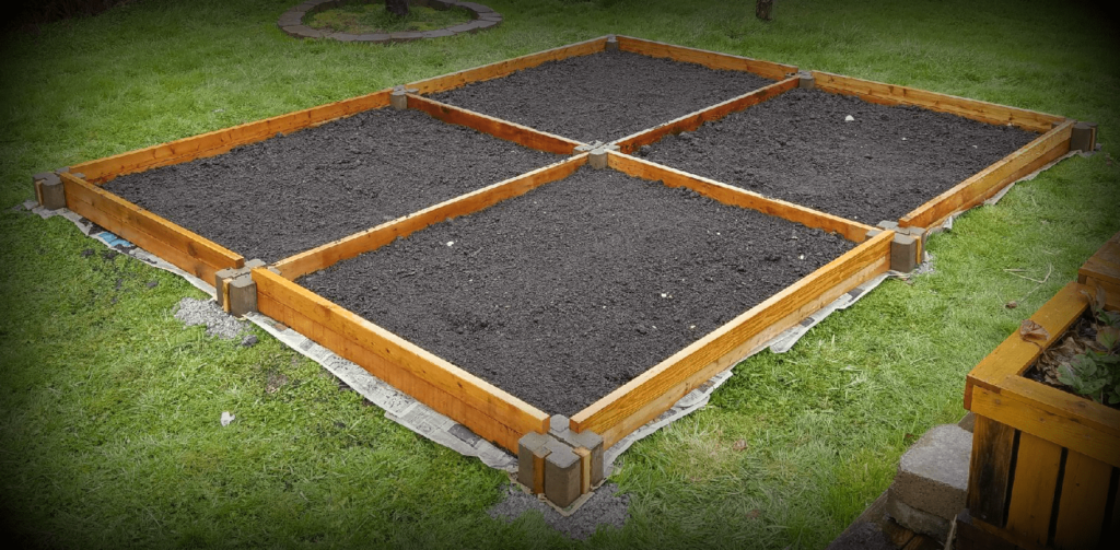 Insanely Easy Raised Garden Bed