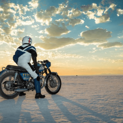 Dad Bonneville Salt Flats Motorcycle Speedweek How My Father Inspired Me to Follow My Dreams