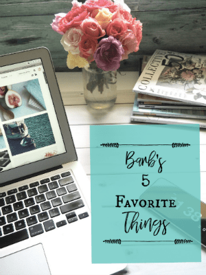My Five Favorite Things For June