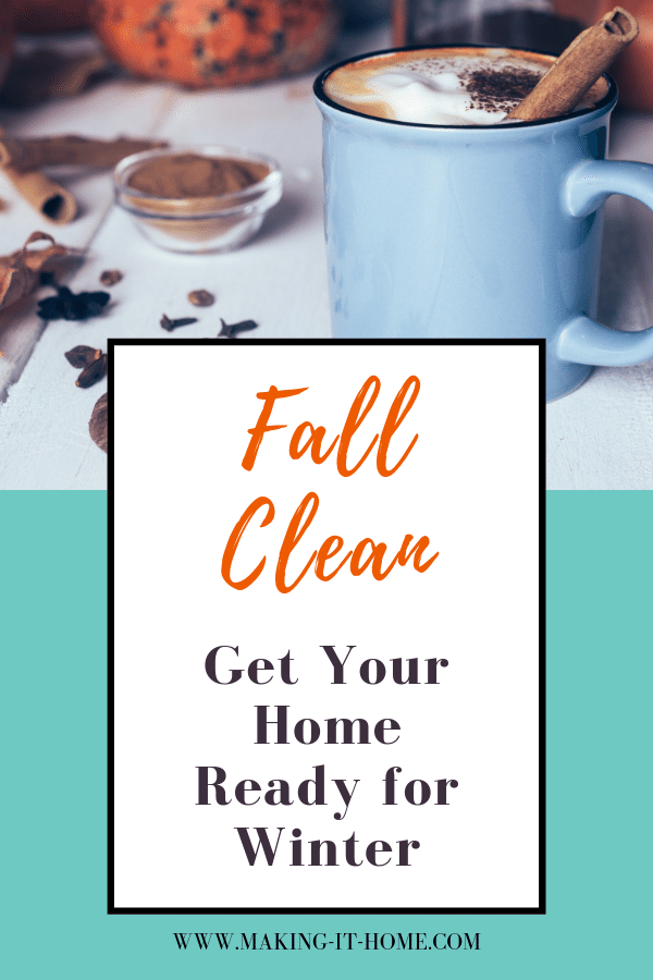 fall scene coffee mug on table fall clean get your home ready for winter