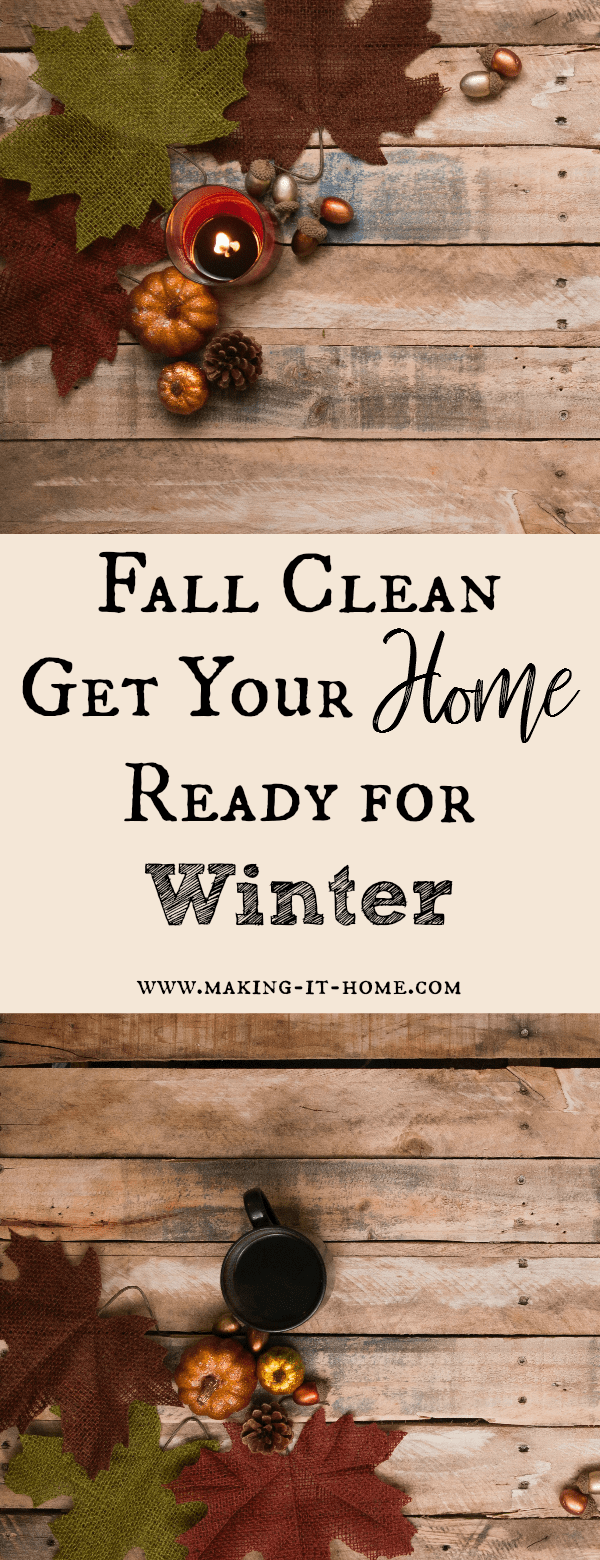 I know you've heard of spring cleaning, but what about fall cleaning? This time of year it's important to prepare yourself and your home for the winter and holiday season. This is the time when homesteaders are beginning the harvest and it's the height of preservation season. There are also some chores around the house that need to be taken care of before winter hits. Not sure where to start? Don't worry I've got you covered!