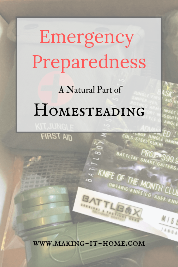 Prepping is an important part of the self-sustainability mindset as well as a natural extension of the homestead. Want to know how you can be prepared for any emergency. Learn the beginning steps of prepping.