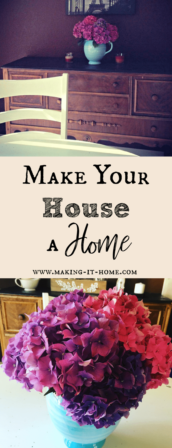 Do you want to try and make your house a home, but think it's expensive or to difficult? Here You'll find tips to turn your house into the beautiful, sanctuary you always dreamed it could be without spending much or too much work.
