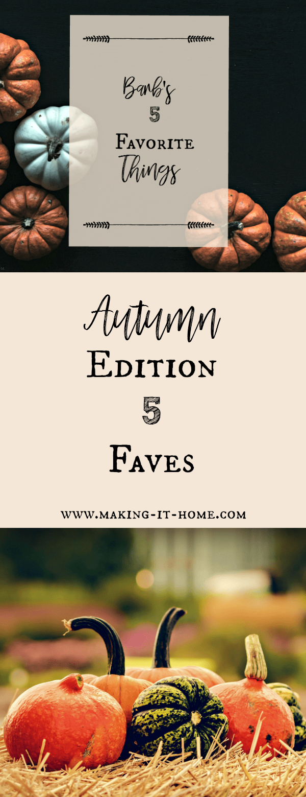 Discover my 5 favorite things for autumn! A website to help you can your harvest safely, join a homestead community, or learn about a great finance app.