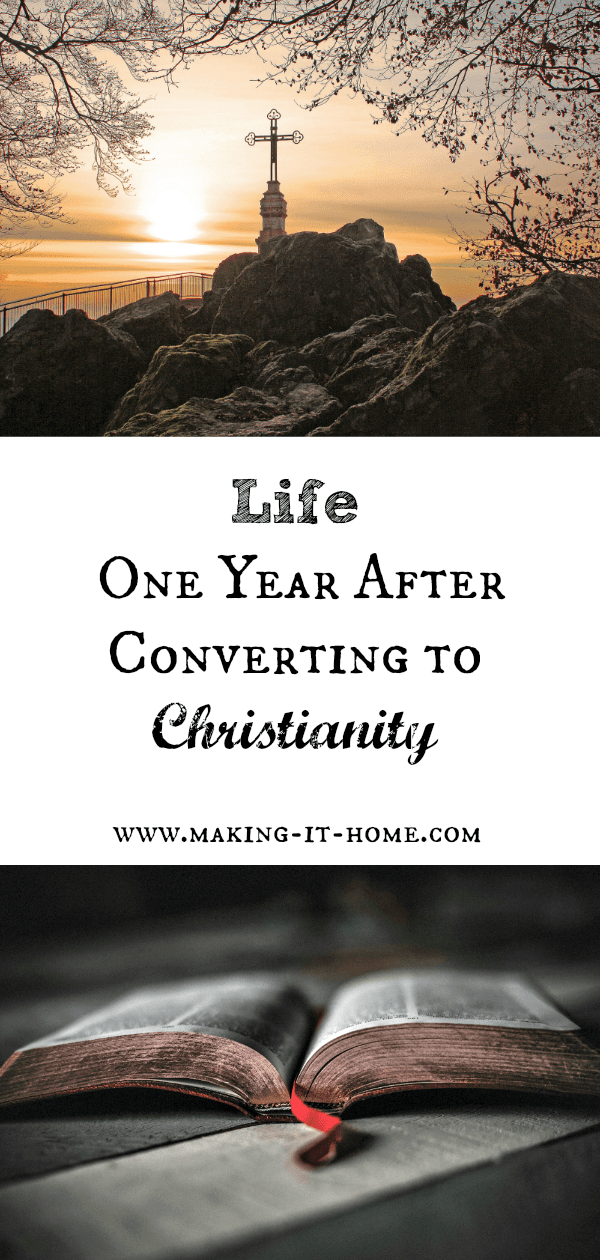 What is life like for a former Pagan one year after converting to Christianity? Is my life better? Am I happier? Things have definitely changed. I have something I never really had before, hope.