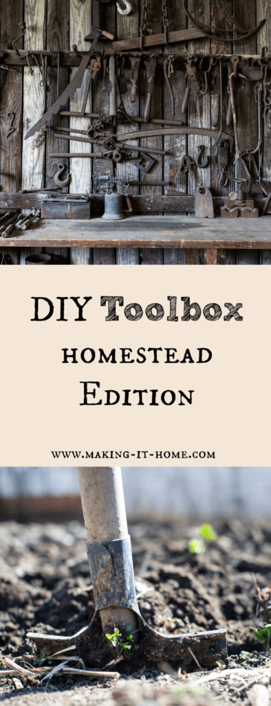 Discover some of the best tools to have in your toolbox when you're a homesteader. Have the best tools for any DIY around the homestead and be ready for any job.