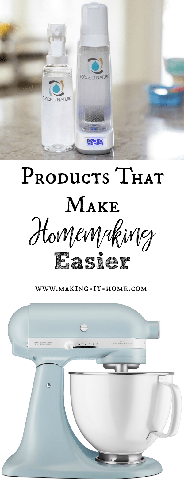 Looking for products or tools that can help make homemaking easier? Tools that can give you more time with your family and making housework actually enjoyable again? Check out my list of products that I stand behind after 23 years of homemaking.