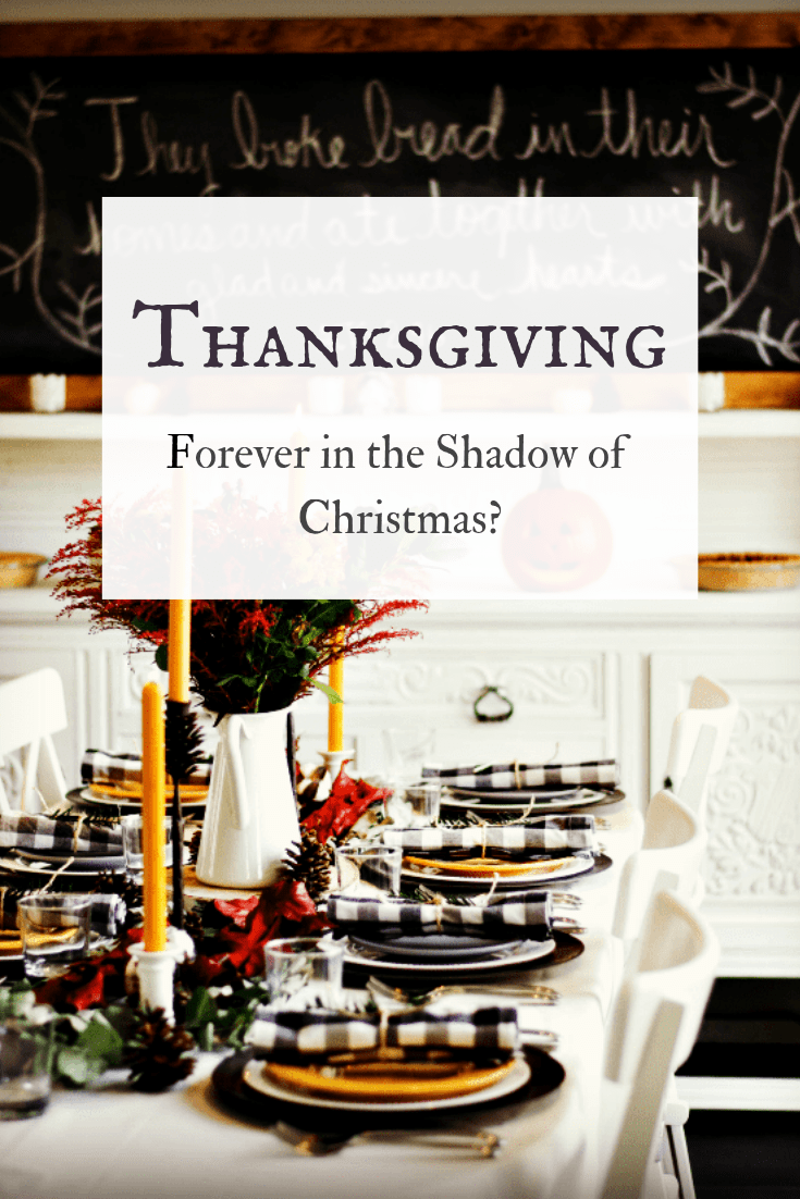 Why does Thanksgiving seem to get overlooked during the holiday frenzy? What is the importance of Thanksgiving? And why should we reevaluate this misunderstood holiday?