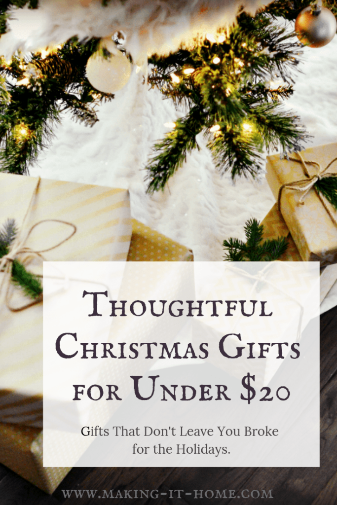 Thoughtful Christmas Gifts Under $20