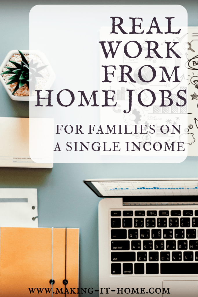 Looking for ways to supplement your income, but don't want to sacrifice home life? In this post I have done the research and have found legitimate work from home jobs for you.