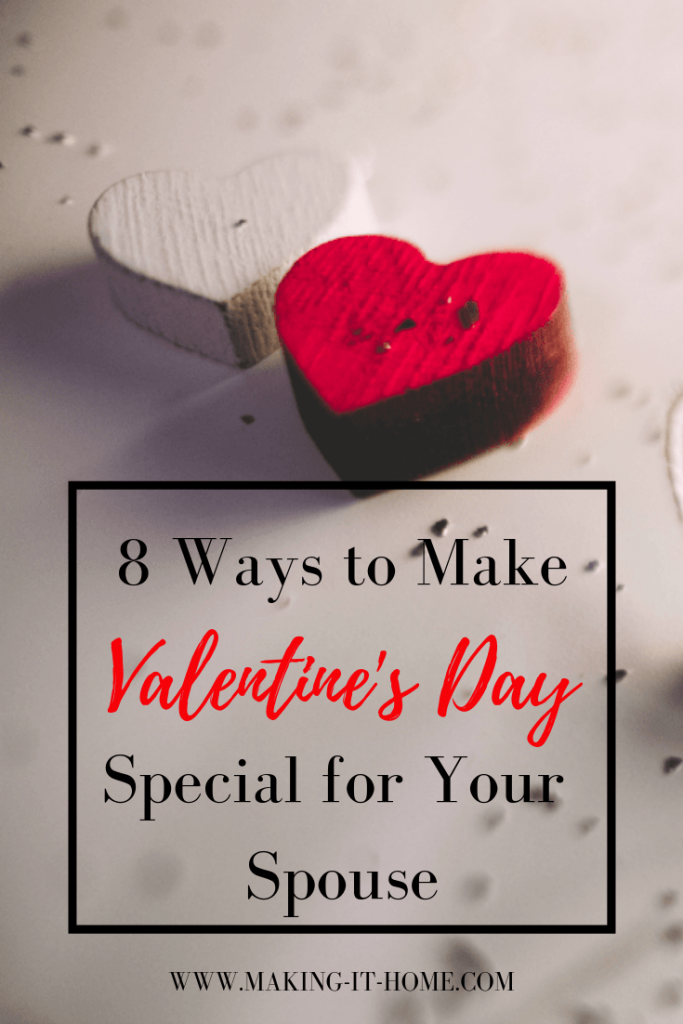 Do you struggle with coming up with gift and date ideas for Valentine's Day? Check out my ideas to make Valentine's Day a special day for your spouse.
