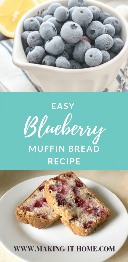 Do hate trying to come up with something new for breakfast every morning? Are you not a morning person? Does the idea of bacon & eggs again drive you nuts? Try something light and simple for a change and make my Easy Blueberry Muffin Bread. Tastes divine and goes great with coffee!