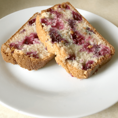 Making It Home easy blueberry muffin bread recipe