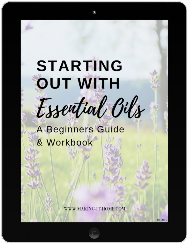 essential oils free printable making it home