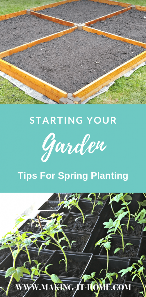 Planning for a garden doesn't have to be intimidating. Have you wanted to #growyourownfood but didn't know when you should start or what plants are good to grow in your area? Should you start from seed or direct sow? What do you need for a garden bed anyway? Get all the tips and confidence you need to start a garden just in time for spring planting. #gardening #backyardgarden #organic #homesteading #growfoodnotlawns #startagarden