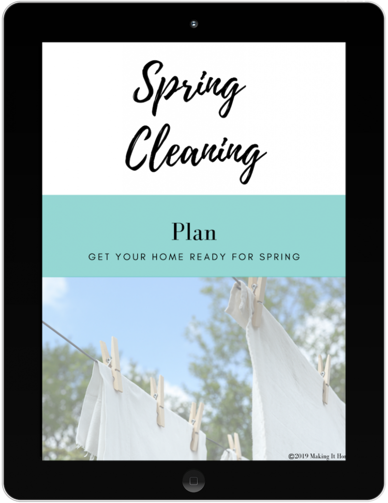 Spring Cleaning List ~ How to Purge & Clean Your Home