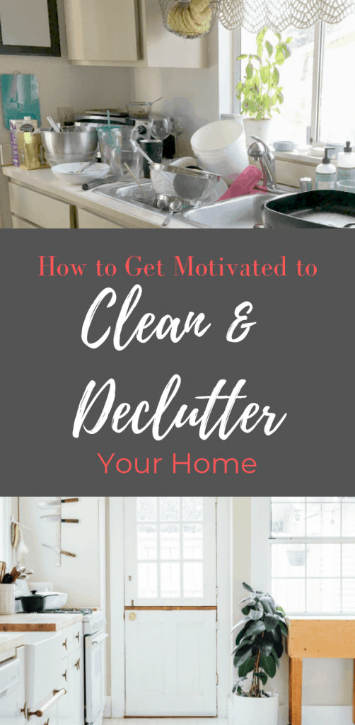 Do you ever get so overwhelmed by your messy house that you just can't get motivated to clean? Has the clutter just become overwhelming? Find out how you can get motivated to purge and clean. And keep your house tidy with less effort.