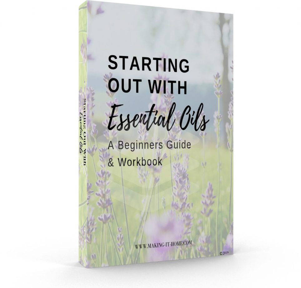 mini workbook starting out with essential oils