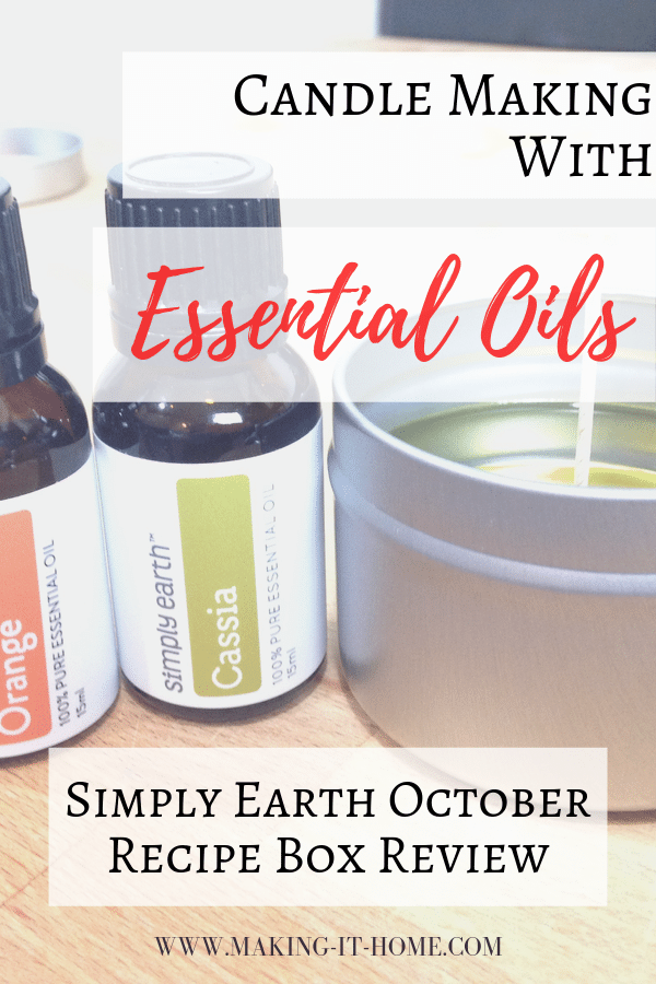 candle making with essential oils simply earth october review candle making DIY