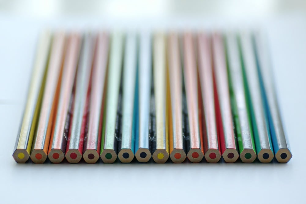 lined up pencils lined up perfectionist